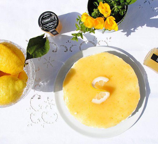 Cheesecake con Tuttafrutta di Limoni (senza cottura)