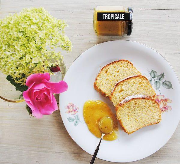 Plumcake con Tuttafrutta Tropicale